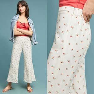 Anthropologie Feather and Bone Talese Wide Pant